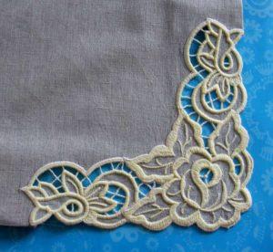 Второй вариант созданий вышивки