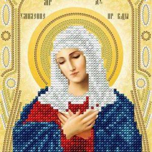 Вышиваем икону Умиление Пресвятой Богородицы