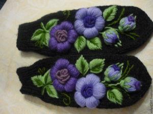 Искусство объемной вышивки