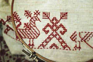 История русской вышивки