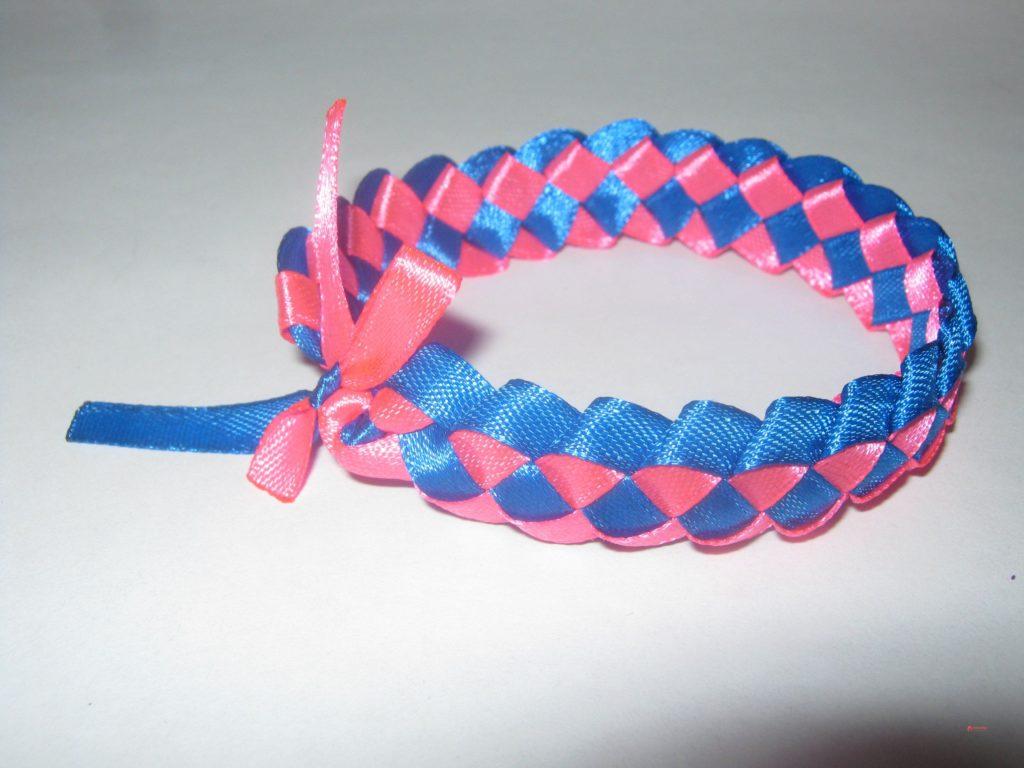 Плетение из атласных лент мк фото размещения мойки