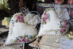 Методы вышивки рококо