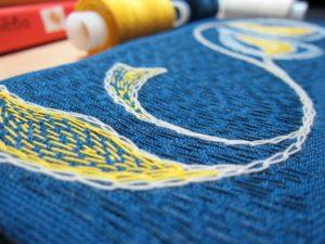 Небольшие хитрости и правила вышивки сашико