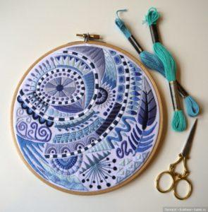 Популярныевиды и способы вышивки