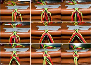 Способы плетения фенечек
